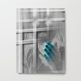 White Noise - Variant III Metal Print