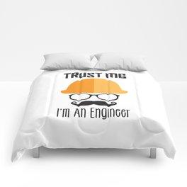 Trust Me I'm An Engineer Comforters