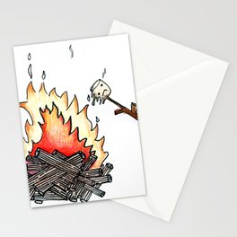 Marshmallow's Misfortune Stationery Cards