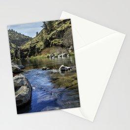 Deschutes River below Steelhead Falls Stationery Cards