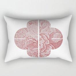 Peony II - series Rectangular Pillow