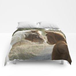 Horse Conversations Comforters