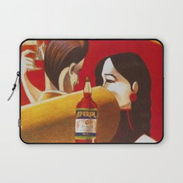 Aperol Alcohol Aperitif Spritz Vintage Advertising Poster Laptop Sleeve