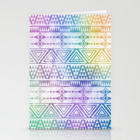 Tribal Voice Stationery Cards