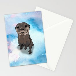 Otter Cuteness Stationery Cards