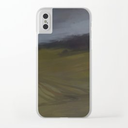 After rain melancholy Clear iPhone Case