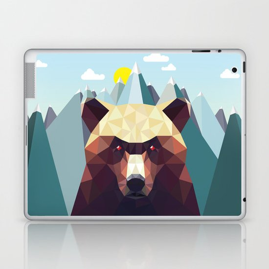 Bear Mountain  Laptop & iPad Skin