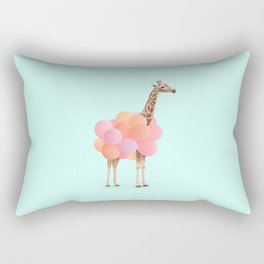 GIRAFFE PARTY Rectangular Pillow