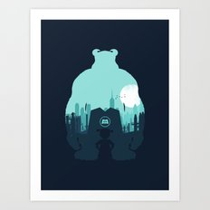 Welcome To Monsters, Inc. Art Print