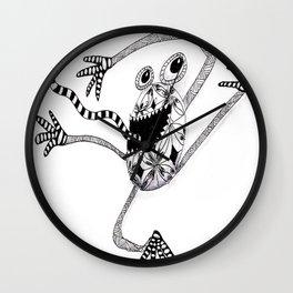 Crazy frog  Wall Clock