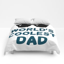 World's Coolest Dad Comforters