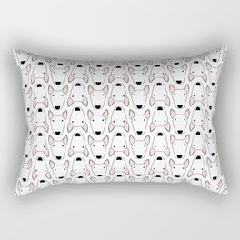small bully gridlock Rectangular Pillow