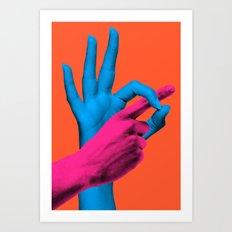 What I Need Art Print