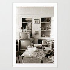 chester kitchen Art Print