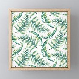 Woodland Ferns Framed Mini Art Print