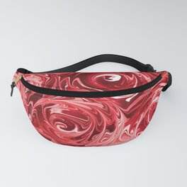 Ruby Red Roses Fanny Pack