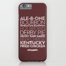 Louisville —Delicious City Prints iPhone 6s Slim Case