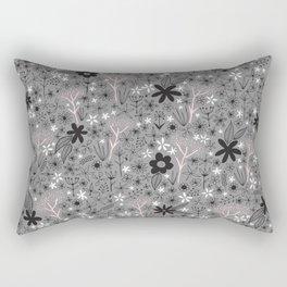 teeny floral print Rectangular Pillow