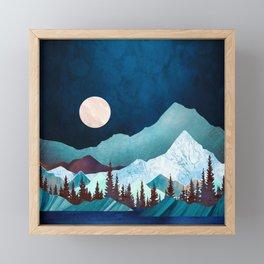 Moon Bay Framed Mini Art Print