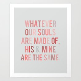 Love Quote Poster Art Print