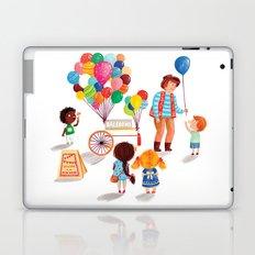 Balloon Stand Laptop & iPad Skin