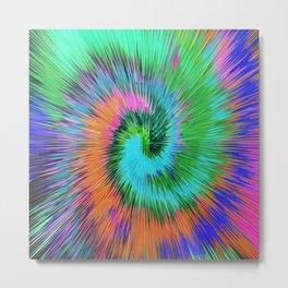 Exploding Spiral 788 Metal Print