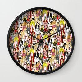 Champions Unite Wall Clock