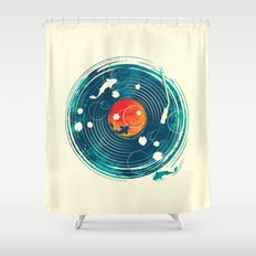 Sound of Water Shower Curtain