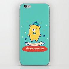 Little baby bear iPhone & iPod Skin