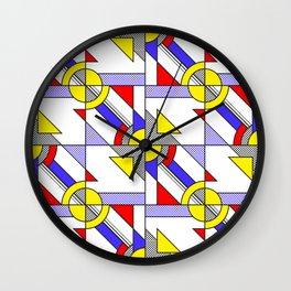 Pop Art Pattern Wall Clock