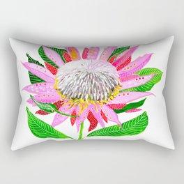 Pink Banksia Rectangular Pillow