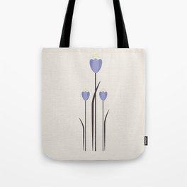Minimal Bluebells Tote Bag