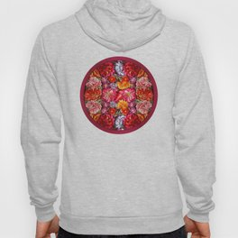 """""""Rose Huipil Embroidered"""" Hoody"""