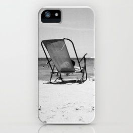 Beach Life - Gone Swimming iPhone Case