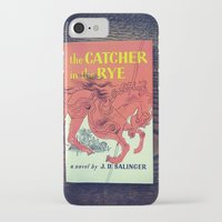 catcher in the rye iPhone & iPod Cases featuring The Catcher In The Rye by Anano