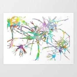 Spider Legs Art Print