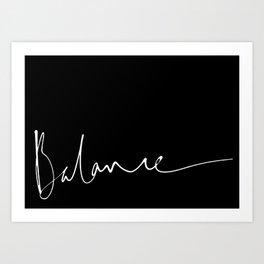Balance 2 Art Print