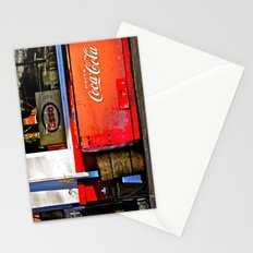 Outside the Station Stationery Cards