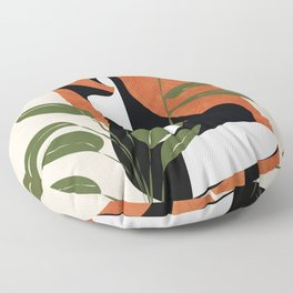 Abstract Female Figure 20 Floor Pillow