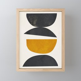 abstract minimal 23 Framed Mini Art Print