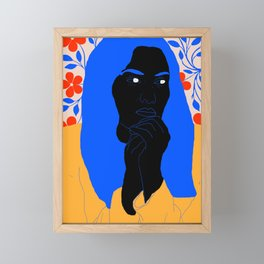 unhappy Framed Mini Art Print