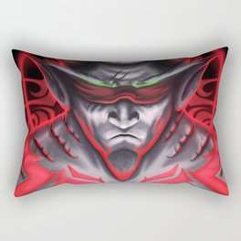 The Demon Hunter Rectangular Pillow