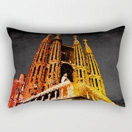 Sagrada Familia - unfinished Rectangular Pillow