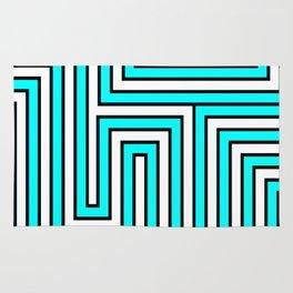 lines. Rug