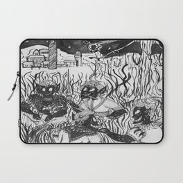 Winter  Hunting (Plain Ink) Laptop Sleeve