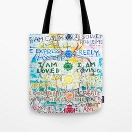 Chakra Primer Tote Bag