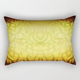 Challenge the Dragon Rectangular Pillow