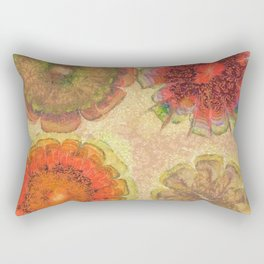 Nonpacificatory Structure Flowers  ID:16165-075207-87310 Rectangular Pillow