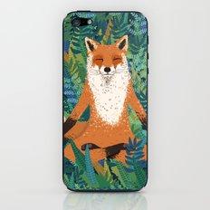 Fox Yoga iPhone & iPod Skin