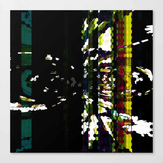ALONG CAME A SPIDER Canvas Print